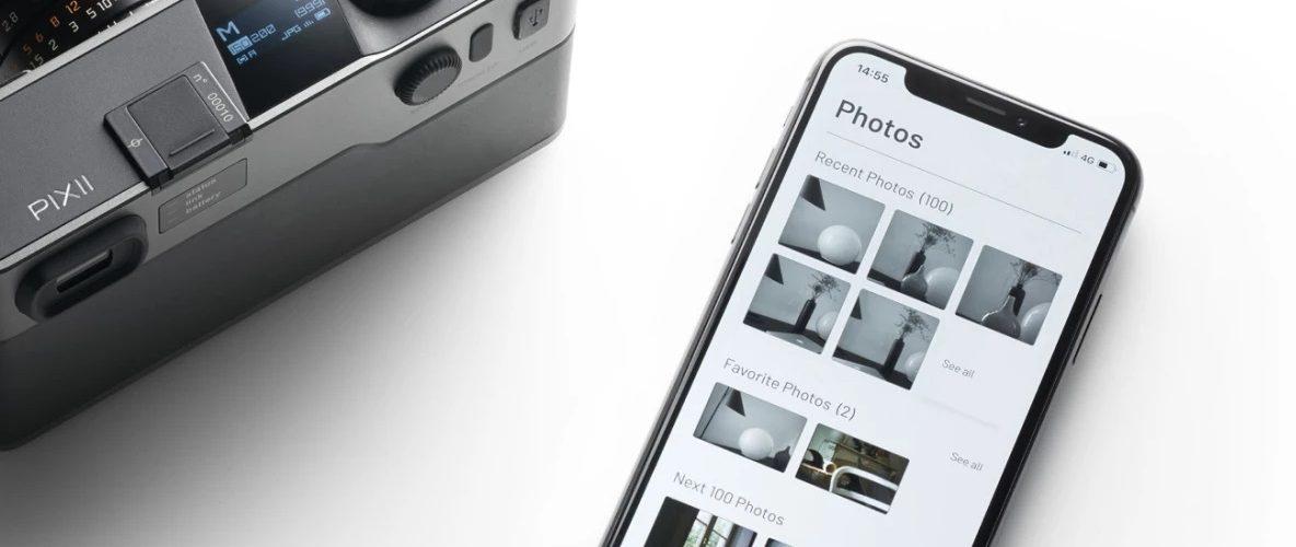 Pixii – Un appareil photo numérique sans écran