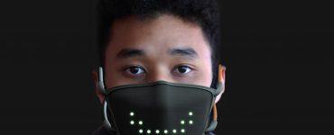 JabberMask – un masque facial à LED parle quand vous le faites et clignote en souriant à la demande