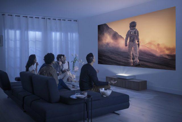 Le projecteur 4K Premiere de Samsung promet une expérience cinématographique