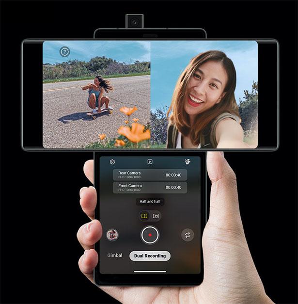 LG Wing – Un smartphone multi-écrans avec fonction de pivotement 2