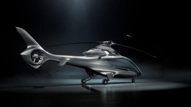 Hill Helicopters dévoile l'hélicoptère de luxe privé HX50 2