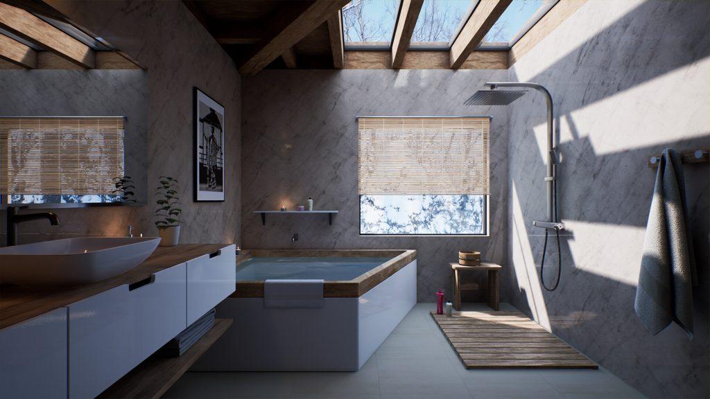 Sept tendances japonaises pour les salles de bain et les toilettes