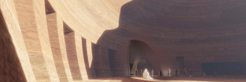 Sharaan - Jean Nouvel prévoit de construire une station de luxe dans d'anciennes montagnes de grès