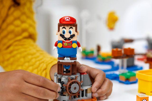 Lego x Super Mario – Outils de personnalisation, nouveaux power-ups Mario 1