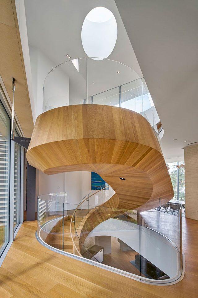 Une sculpture géante en spirale signée Belzberg Architects