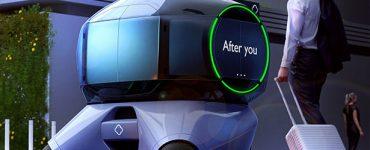 Chuan Jiang dévoile un concept de véhicule façon bulle futuriste