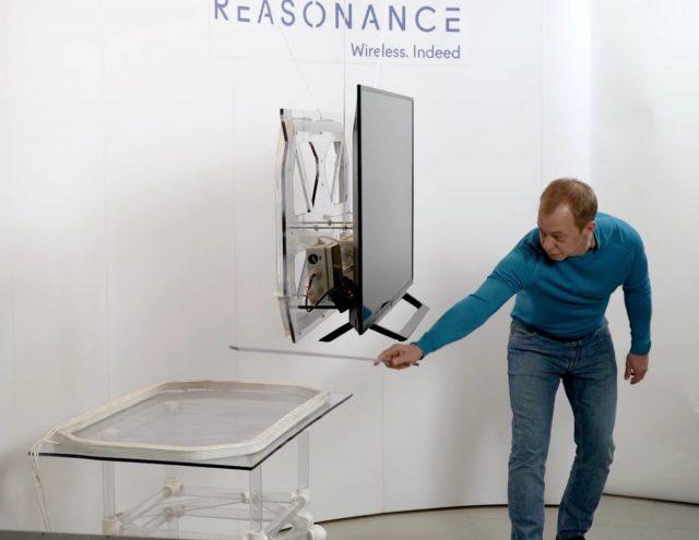 Reasonance dévoile un prototype de télévision se débarrasse de la prise et s'allume sans fil 1