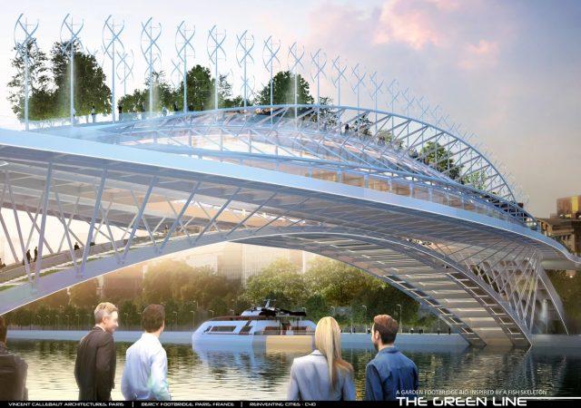 Vincent Callebaut veut enjamber la Seine avec des jardins potagers 1
