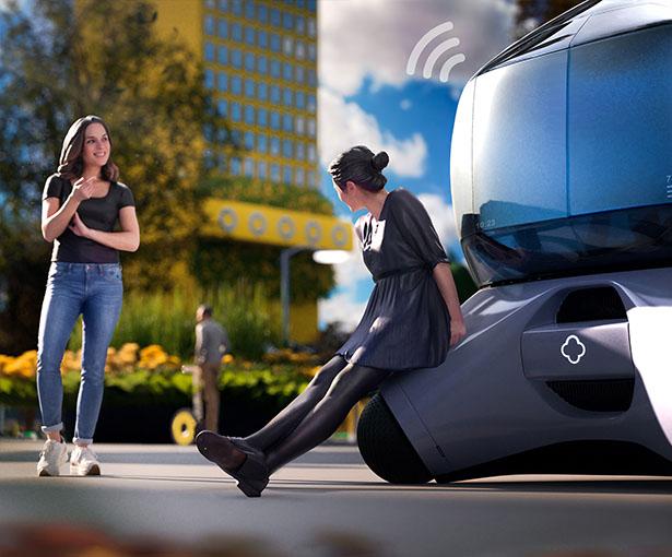 Chuan Jiang dévoile un concept de véhicule façon bulle futuriste 3