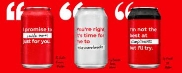 Open to Better – Le packaging de Coca-Cola se réinvente 1