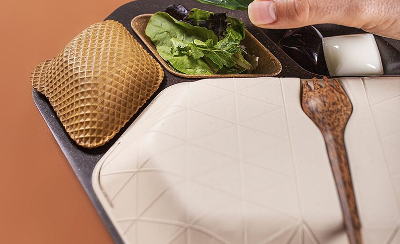 PriestmanGoode dévoile un concept de plateau repas durable