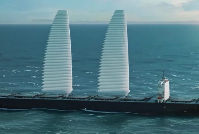 Wing Sail Mobility - Les voiles gonflables Michelin hybrident les navires