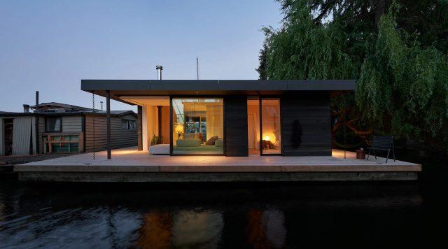 La maison flottante Portage Baypour les prix AIA