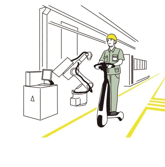 C+walkT – Le scooter électrique à trois roues de Toyota 2